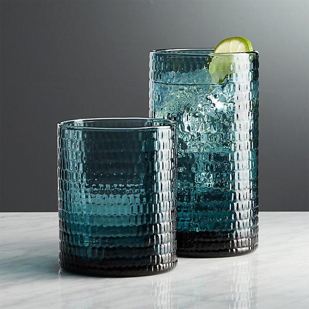 Nile Sapphire Glasses
