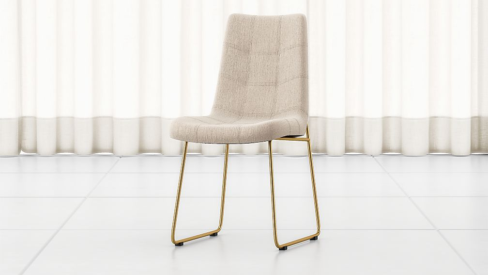 Naomi Dempsey Flax Tufted Dining Chair - Image 1 of 7