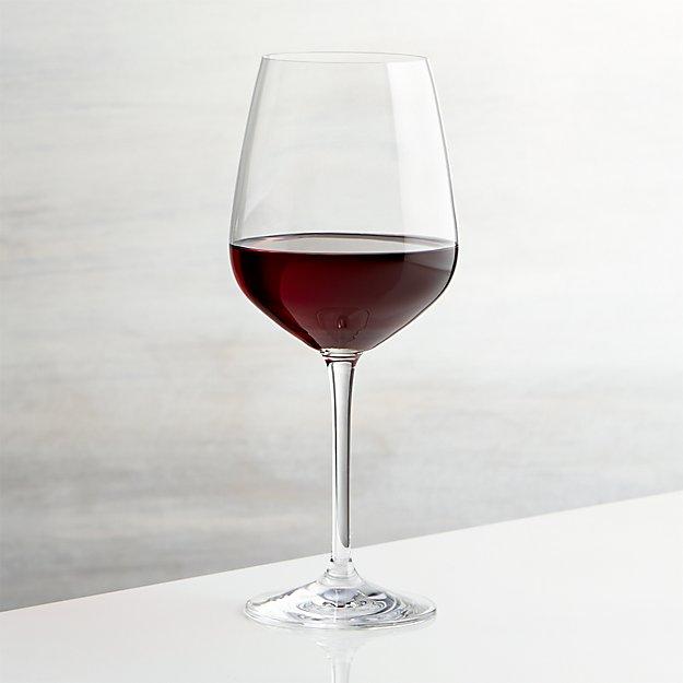 nattie red wine glass crate and barrel. Black Bedroom Furniture Sets. Home Design Ideas