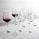 Nattie Red Wine Glasses, Set of 8