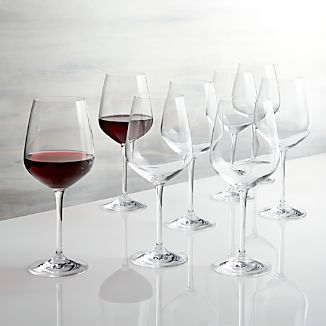 Set of 8 Nattie Red Wine Glasses