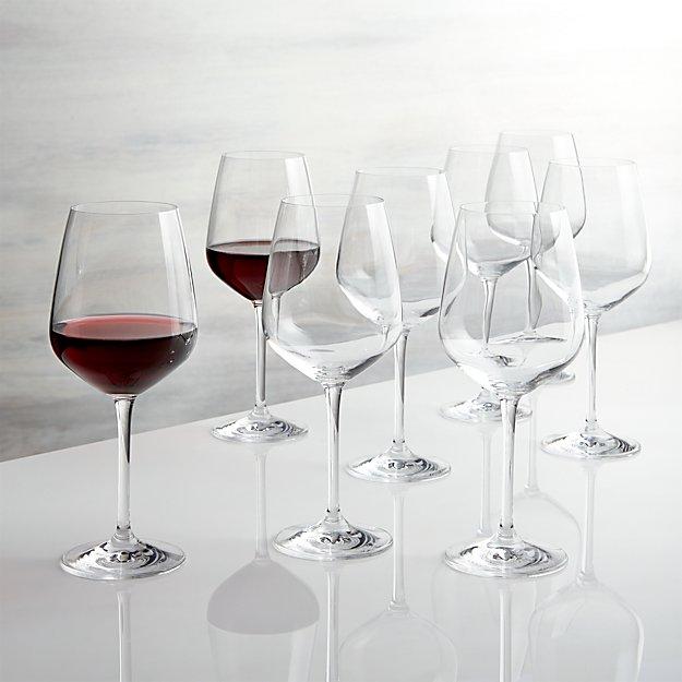 Nattie Red Wine Glasses, Set of 8 - Image 1 of 11