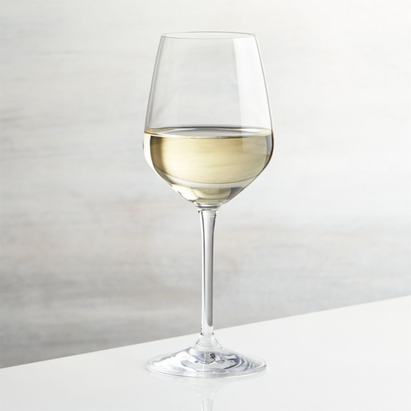 Nattie White Wine Glass Reviews Crate And Barrel