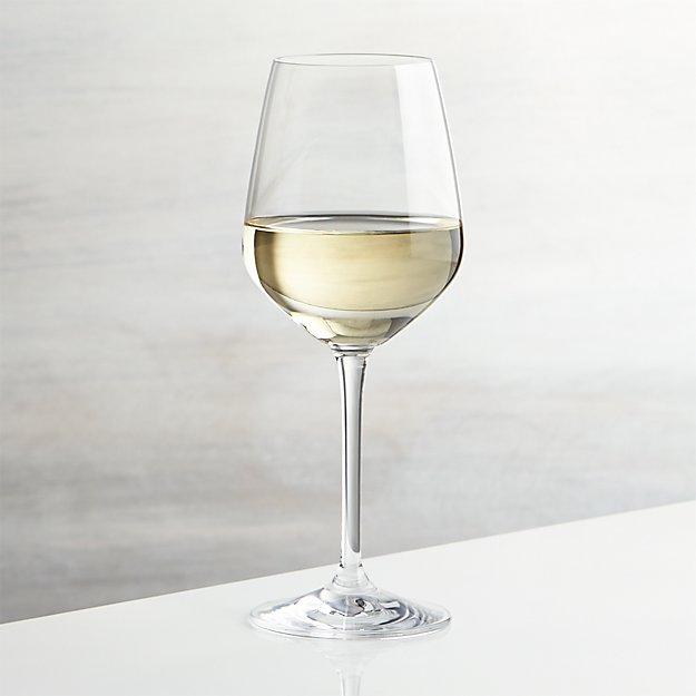 Nattie White Wine Glass Crate And Barrel