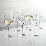 Nattie White Wine Glasses, Set of 8