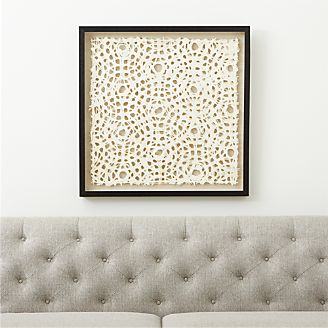 Natural Circles Paper Wall Art