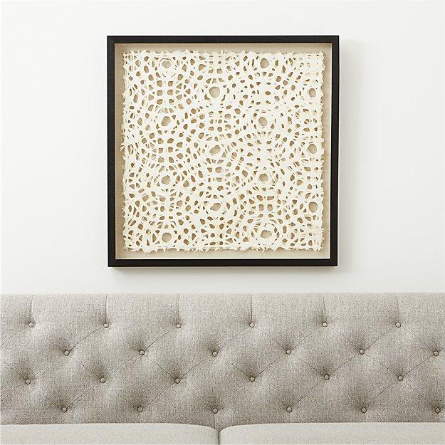 Natural Circles Paper Wall Art - Image 1 of 9