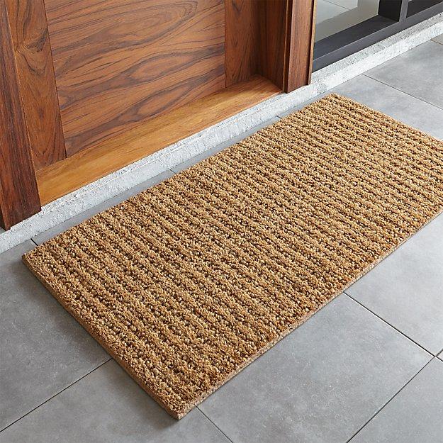 Natural Coir Doormat Reviews Crate And Barrel