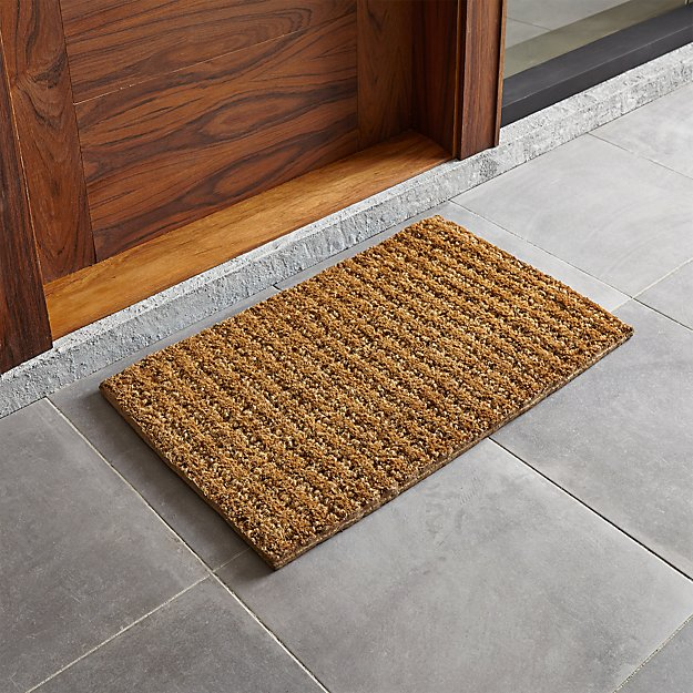 Knotted 30 Quot X18 Quot Jute Doormat Reviews Crate And Barrel