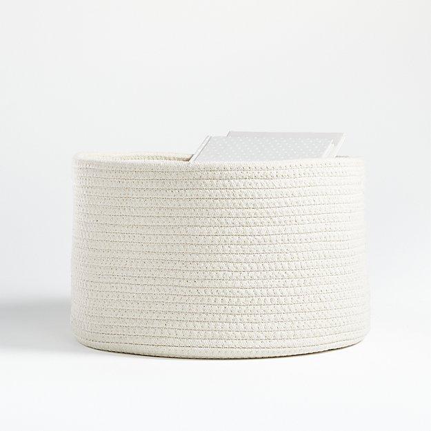 Natural Small Rope Storage Bin - Image 1 of 5