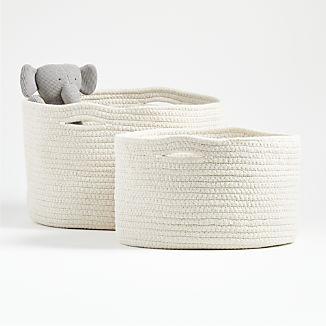 Natural Rope Storage Basket