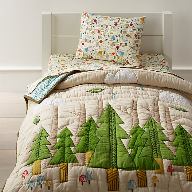 Nature Trail Toddler Bedding Crate And Barrel