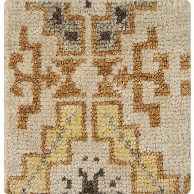 "Nell Desert Wool-Blend 12"" sq. Rug Swatch"