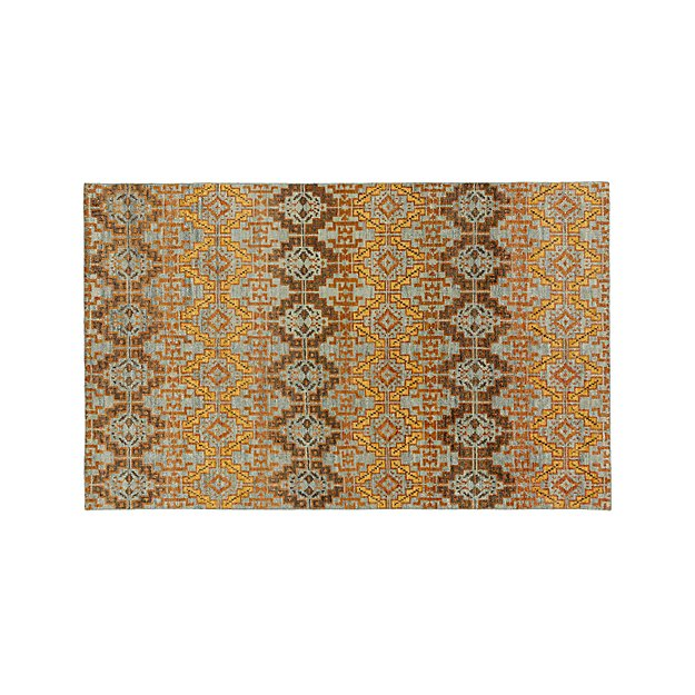 Nell Oasis Wool-Blend 5'x8' Rug