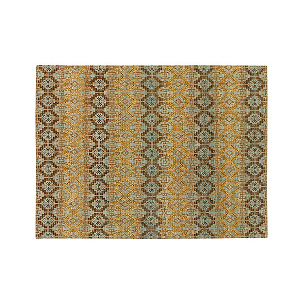 Nell Oasis Wool-Blend 9'x12' Rug - Image 1 of 3