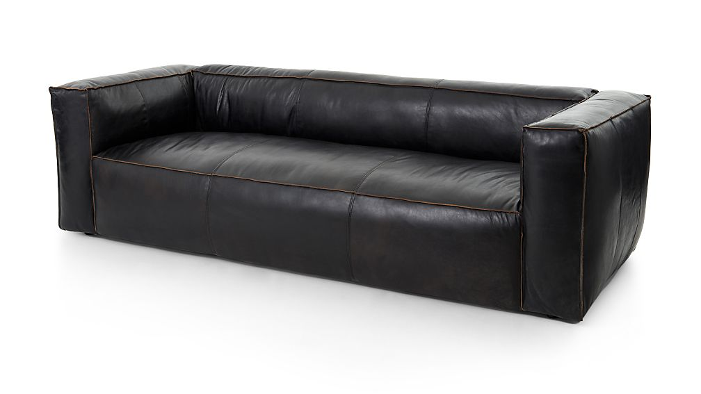Nellie Leather Sofa - Image 1 of 9