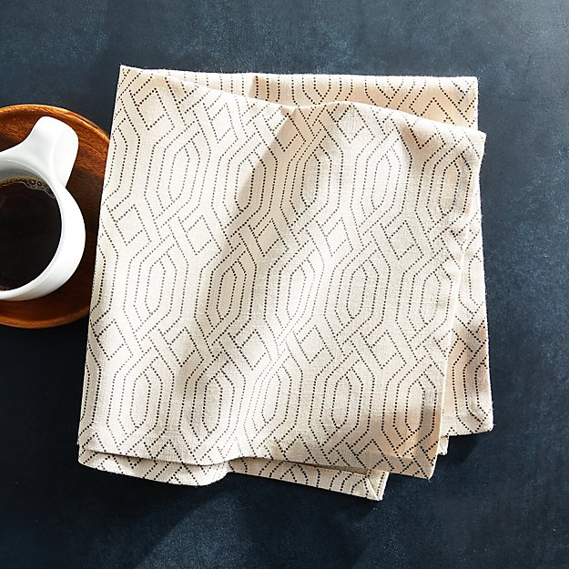 Nellie Natural Napkin - Image 1 of 4