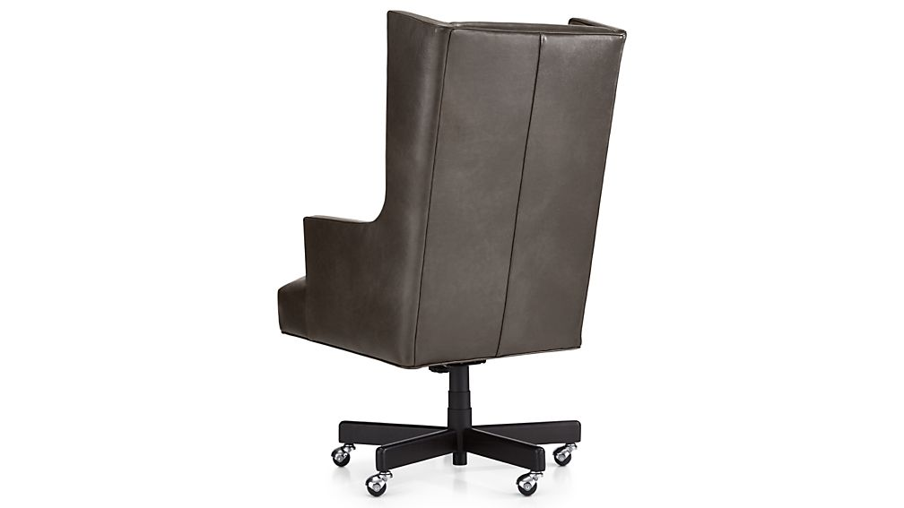 Neo Leather Wingback Office Chair