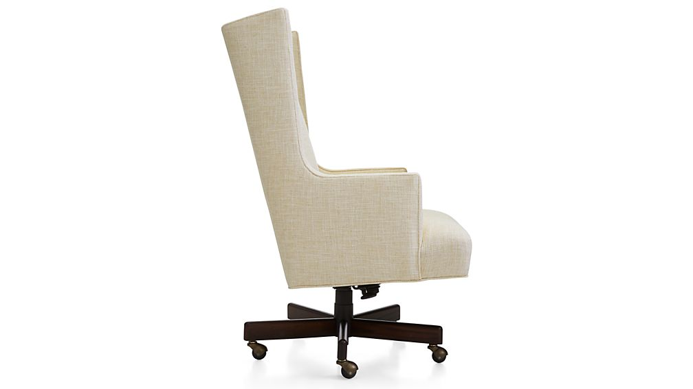 Neo Upholstered Wingback Office Chair