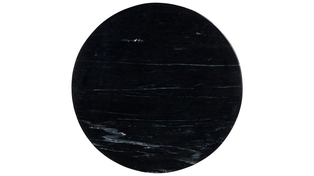 Nero Black Accent Table
