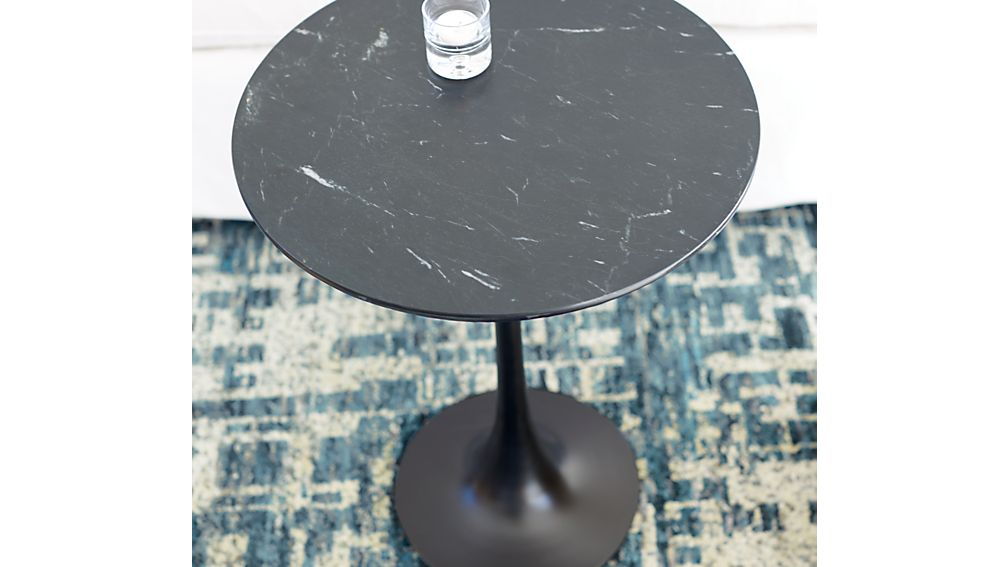 Nero Black Accent Table
