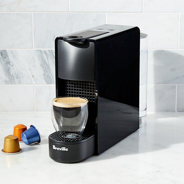 Nespresso ® by Breville Essenza Mini Black Espresso Maker