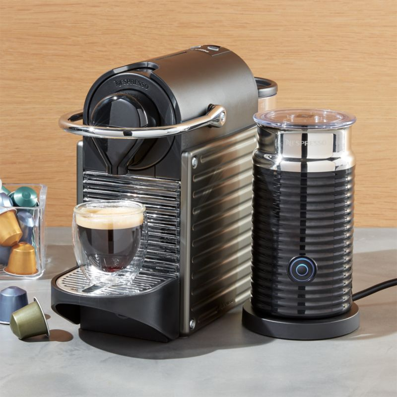 Nespresso ® by Breville Pixie Titan Bundle | Crate and Barrel