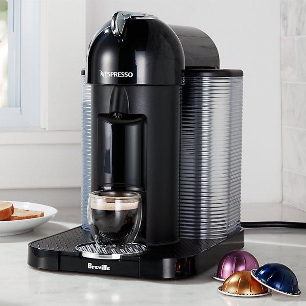 Nespresso By Breville Vertuoline Black Coffee Espresso