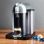 Nespresso ® by Breville VertuoLine Chrome Coffee-Espresso Maker