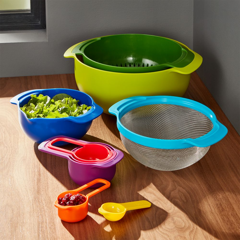 Joseph Joseph ® Nest 9 Mixing Bowl Set - Crate and Barrel