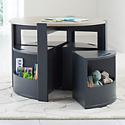 Brilliant Kids Tables And Chairs For Play Crate And Barrel Complete Home Design Collection Barbaintelli Responsecom