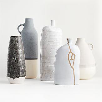 Neutral Color Vase Arrangement