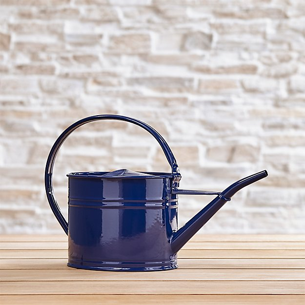 Watering Marine Blue Can Small