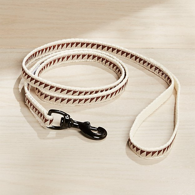 "Nice Grill 1/2"" Caramel Brown Leash - Image 1 of 5"