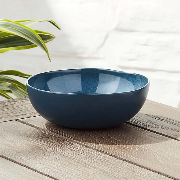 Nico Blue Melamine Bowl - Image 1 of 4