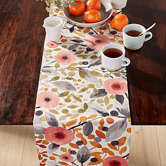 Nicoya Multi Floral Table Runner