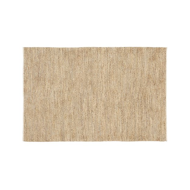 Nievs Woven Jute Rug 8 X10 Reviews Crate And Barrel