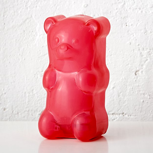 Pink Gummy Bear Night Light + Reviews | Crate and Barrel