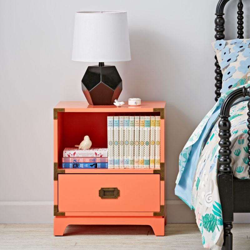 Kids Campaign Nightstand Coral Crate And Barrel
