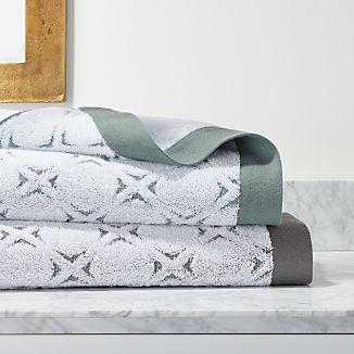 Nilo Organic Jacquard Bath Towels