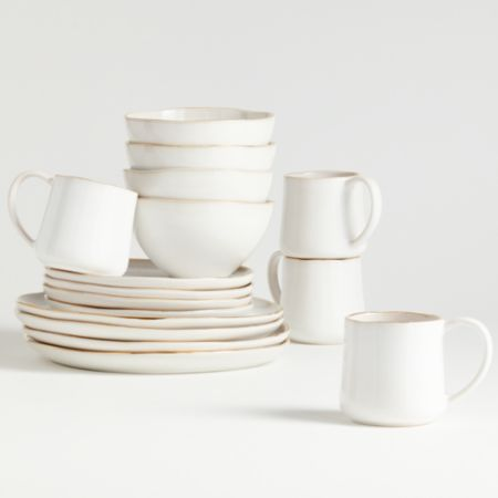 Nina dinnerware from Crate & Barrel