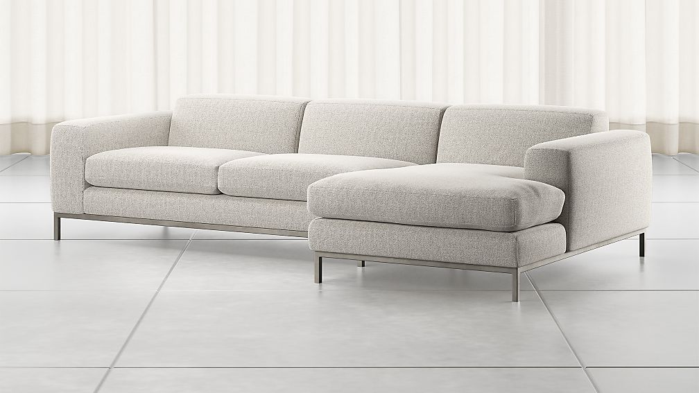 Nixie Grey 2-Piece Sectional Sofa - Image 1 of 2