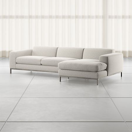 Nixie Grey 2 Piece Sectional Sofa