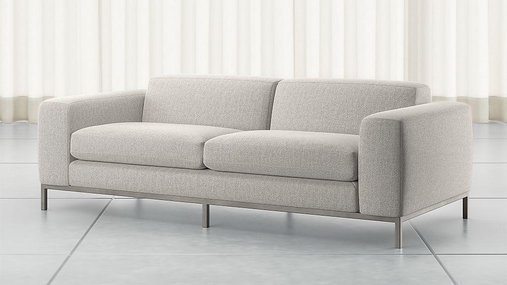 Nixie Grey Sofa - Image 1 of 6