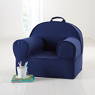 Large Navy Nod Chair