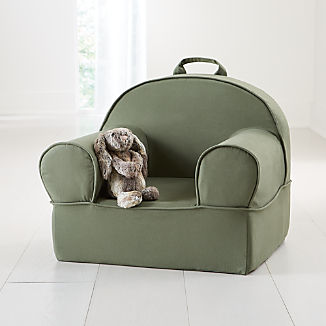 Large Dark Green Nod Chair