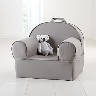 Large Grey Nod Chair