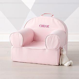 Genial Large Light Pink Nod Chair