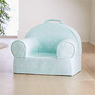 Small Mint Dash Nod Chair