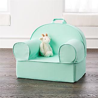 Large Mint Nod Chair